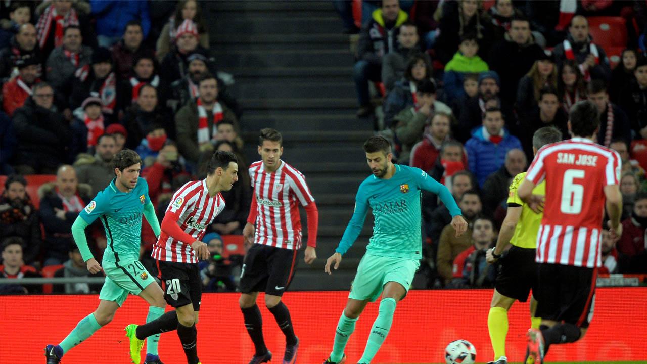El FC Barcelona inició el año con un fuerte compromiso ante el Athletic de Bilbao, en el cual salió derrotado por 2-1