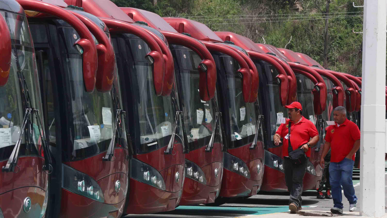 El ministro Molina aseguró que de esta manera el sistema de transporte será más efectivo