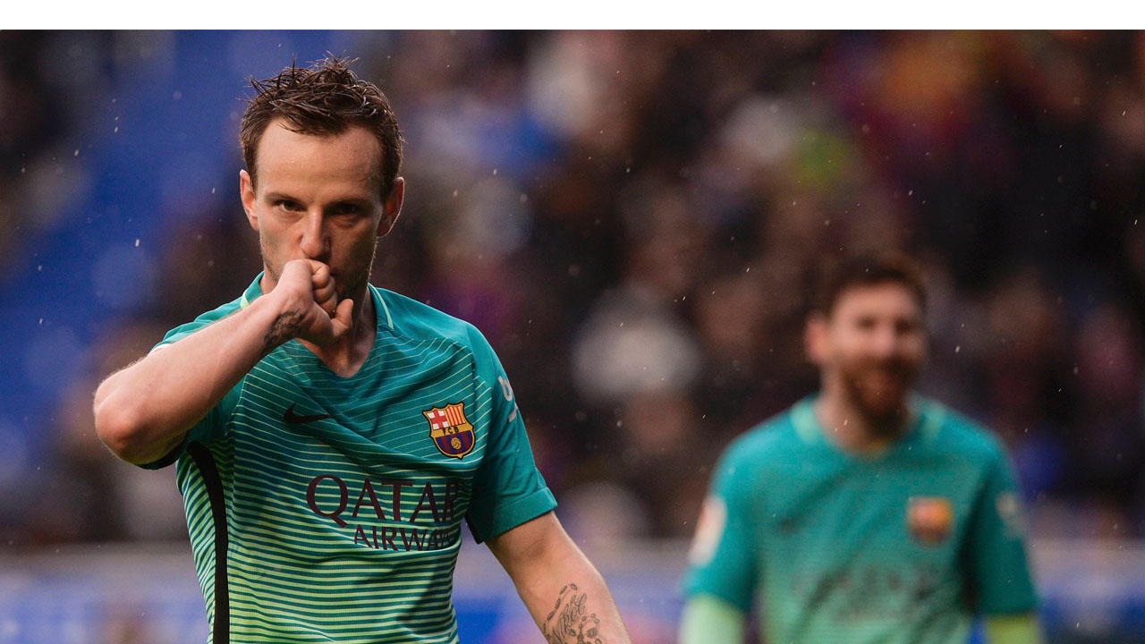 Con goles de Messi, Suárez, Neymar y Rakitic, el cuadro catalán derrotó al Deportivo Alavés 0-6