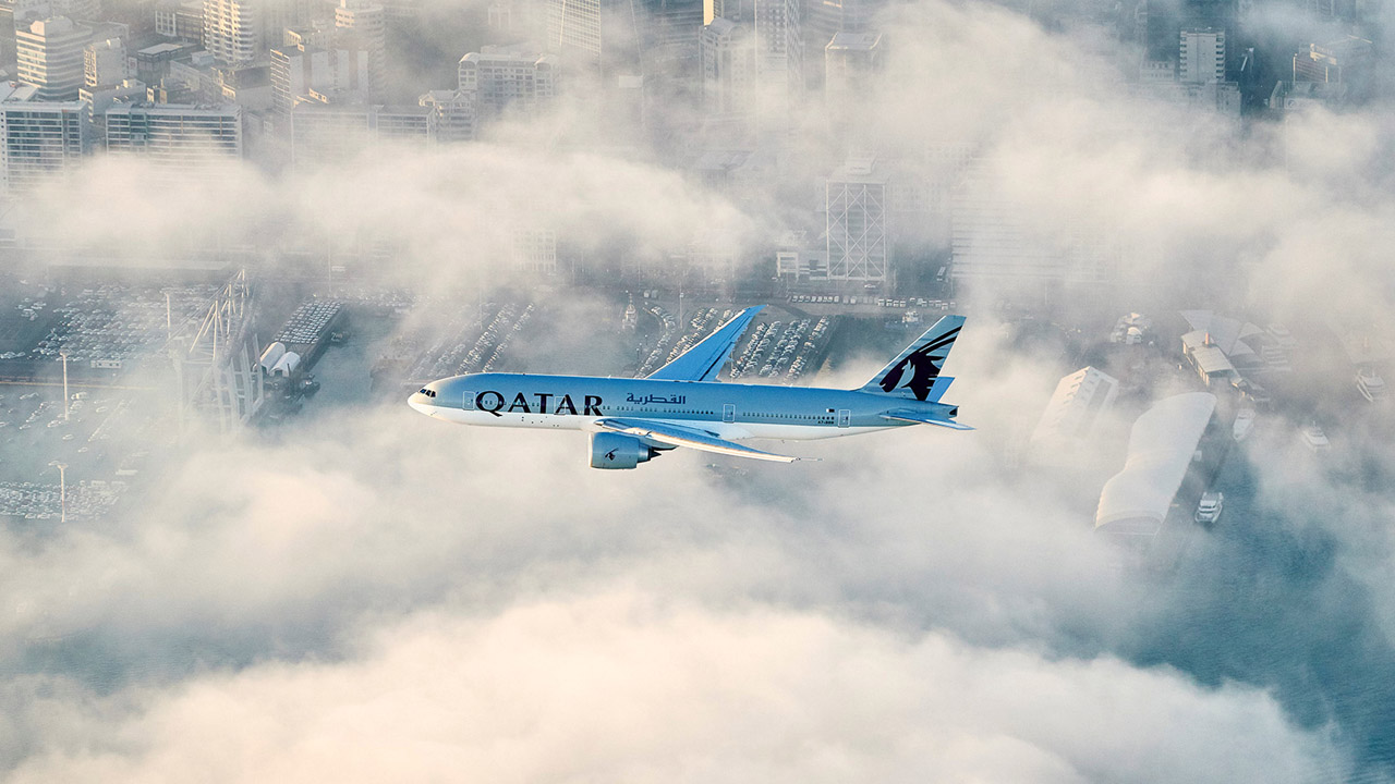 Luego de 16 horas y 20 minutos de recorrido, el primer viaje de Qatar Airways a Auckland fue todo un éxito