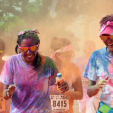 Este sábado será Carrera Color Night