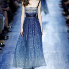 Azul marino: la fuente de inspiración de Dior