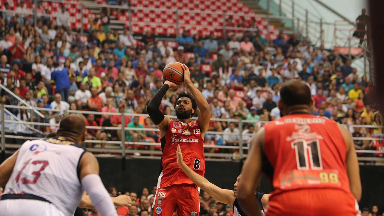 Los larenses vencieron por tercera vez a los Gigantes de Guayana con un marcador de 101-85