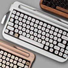"""""""Penna"""": el teclado retro que causa sensación"""