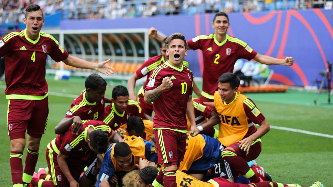 El combinado nacional venció 7-0 a Vanatu en el segundo encuentro de la Copa Mundial Sub-20 de la FIFA Corea 2017