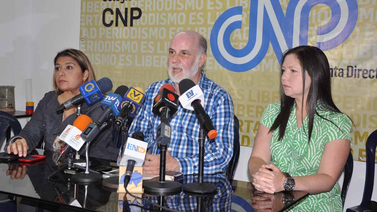 El presidente del CNP, Tinedo Guía asegura que ambos organismos buscan resolver los problemas a periodistas agredidos en protestas opositoras