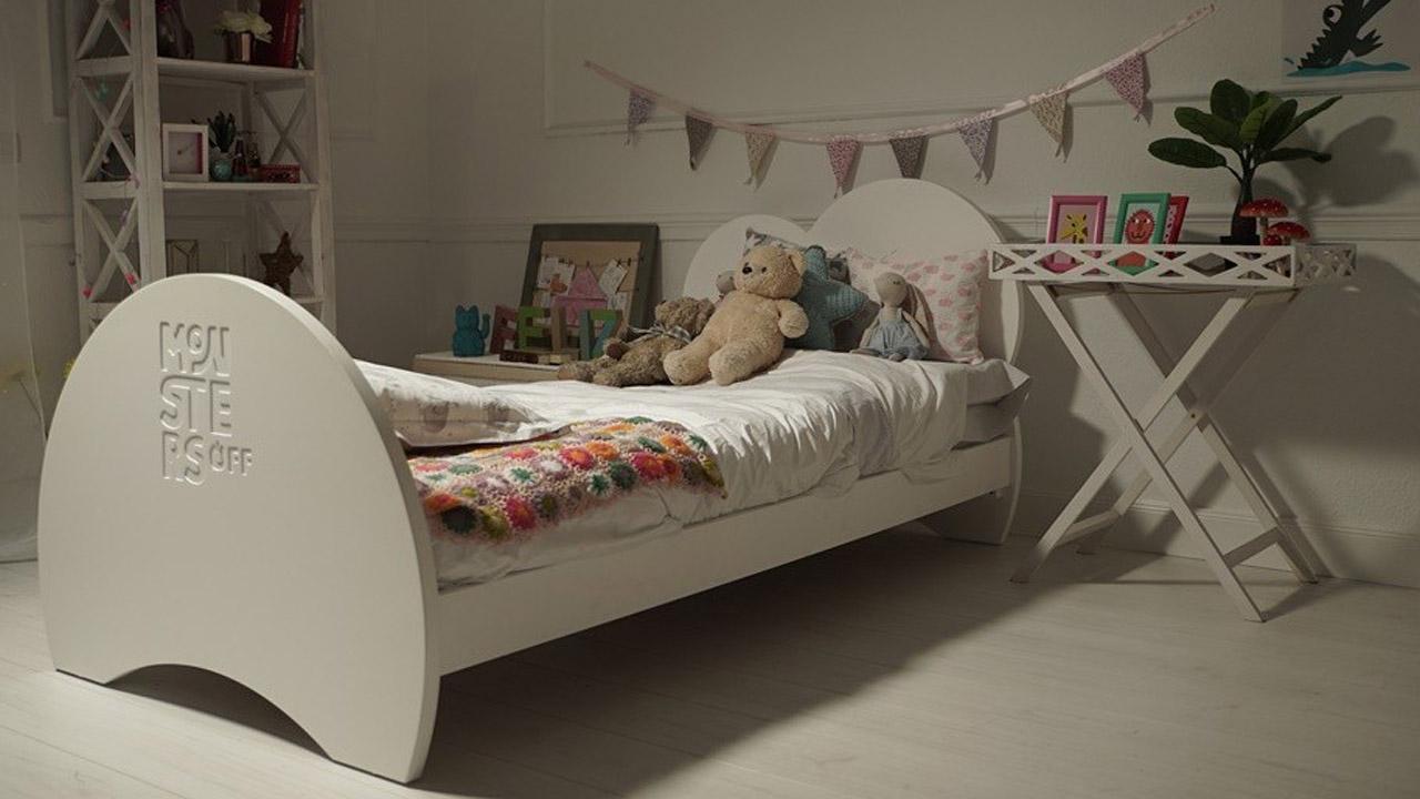 Esta cama, creada en España, posee un sistema de luz led para que los más pequeños estén tranquilos a la hora de dormir