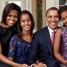 La familia Obama se queda en Washington