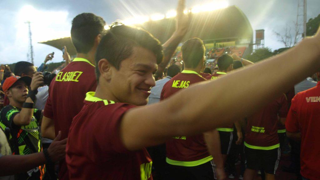 Franklin de 36 años y Ronaldo de 20, representan dos caras exitosas en las selecciones más exitosas del fútbol venezolano