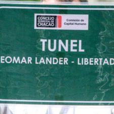Alcaldía de Chacao homenajea a Neomar Lander