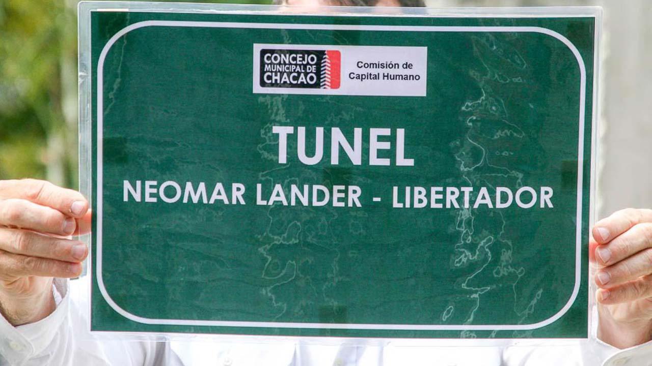 Alcaldía de Chacao homenajea a Lander