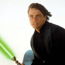 Subastarán sable de Luke Skywalker