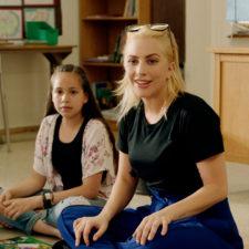 Lady Gaga, maestra por un día