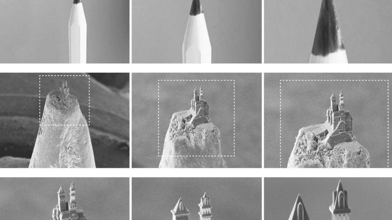 El trabajo tiene el ancho de entre 4 y 7 cabellos humanos y requiere de un microscopio electrónico para ser observado.