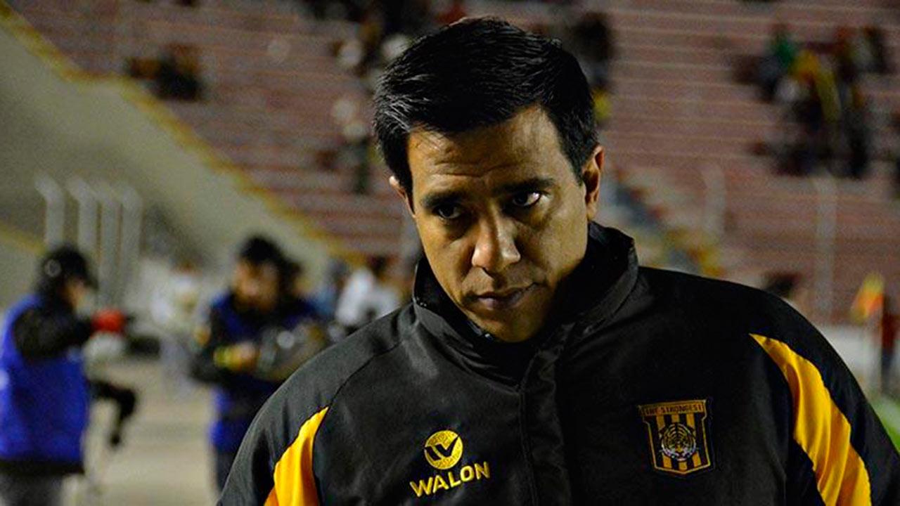 El entrenador venezolano fue castigado por un Tribunal deportivo de Bolivia con dos años de suspensión de toda actividad relacionada al fútbol de ese país