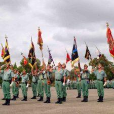 Legión española causa sensación