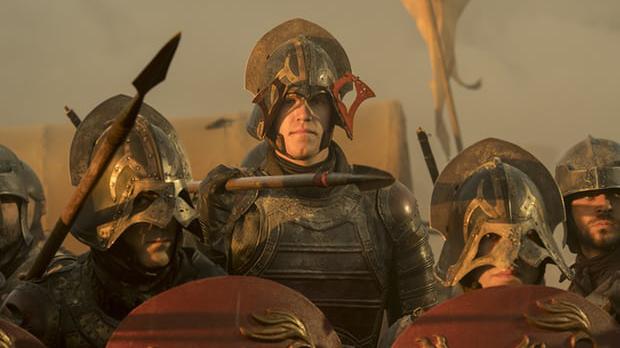 El lanzador de los Mets de Nueva York, Noah Syndergaard tuvo un cameo como soldado de la armada Lannister