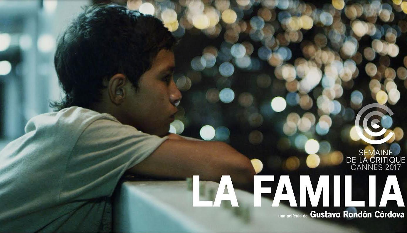 """La cinta """"La Familia"""" del cineasta criollo Gustavo Rondón Córdova se alzó con el galardón de mejor película de ficción"""