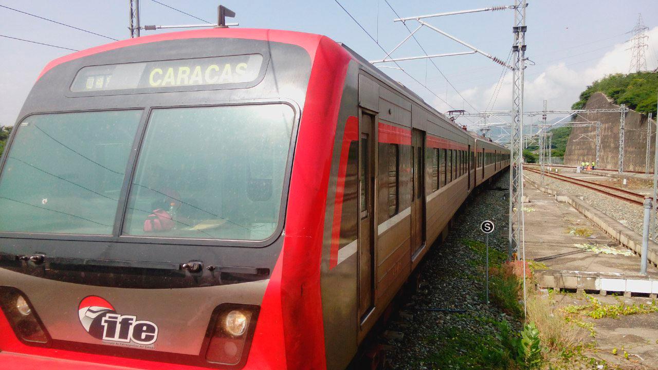 Las vías férreas del Sistema Ferroviario Central Ezequiel Zamora I, que una a Caracas con los Valles del Tuy están siendo rehabilitadas