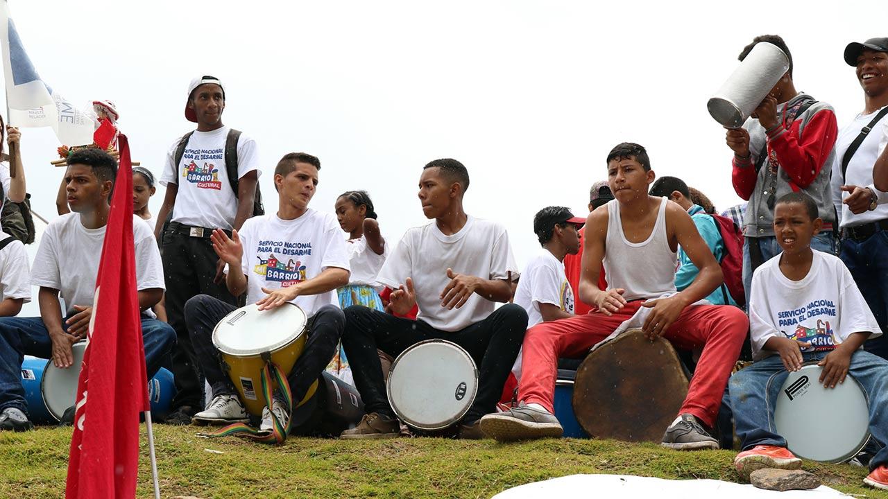 El Instituto Nacional del Deporte conjuntamente con el Ministerio de Juventud y Deporte llevan a cabo la actividad con más de 1.500 jóvenes