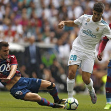 Real Madrid empató 1-1 ante Levante