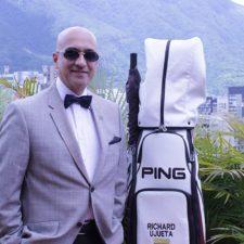 Richard Ujueta promueve la socialización del golf en Venezuela