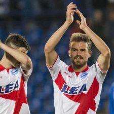 Christian Santos volvió a gritar gol en España