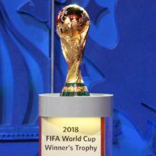 Copa del mundo hace primera parada en Rusia
