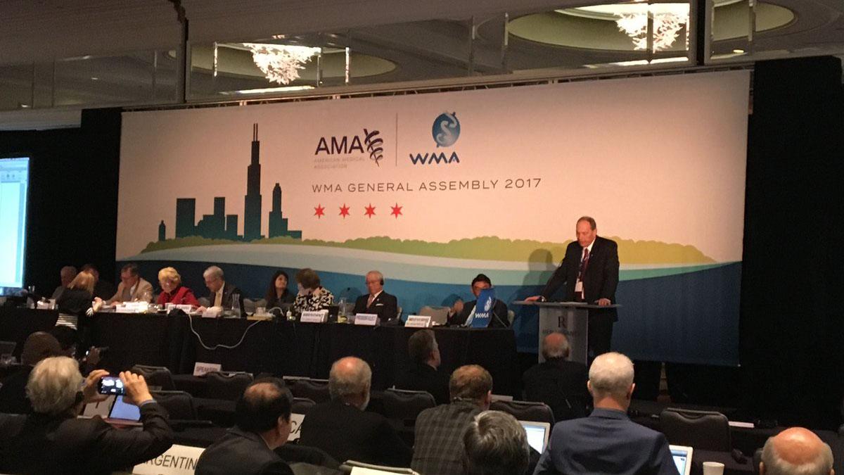 """Urban Wiesing, experto en ética médica, afirma que se trata del cambio """"más importante y amplio"""" de la Declaración de Ginebra"""