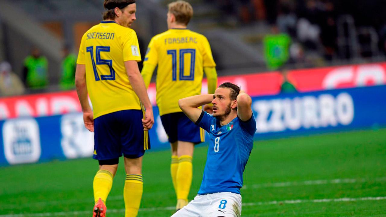 Los vikingos regresan a una COpa del Mundo tras 12 años de ausencia; la azzurra queda fuera tras jugar 14 mundiales seguidos