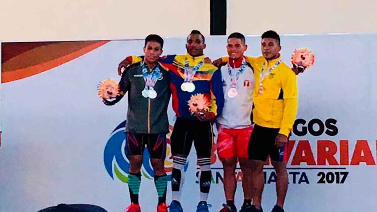 La delegación venezolana que compite en los juegos deportivo de Santa Marta acumula más de 140 medallas