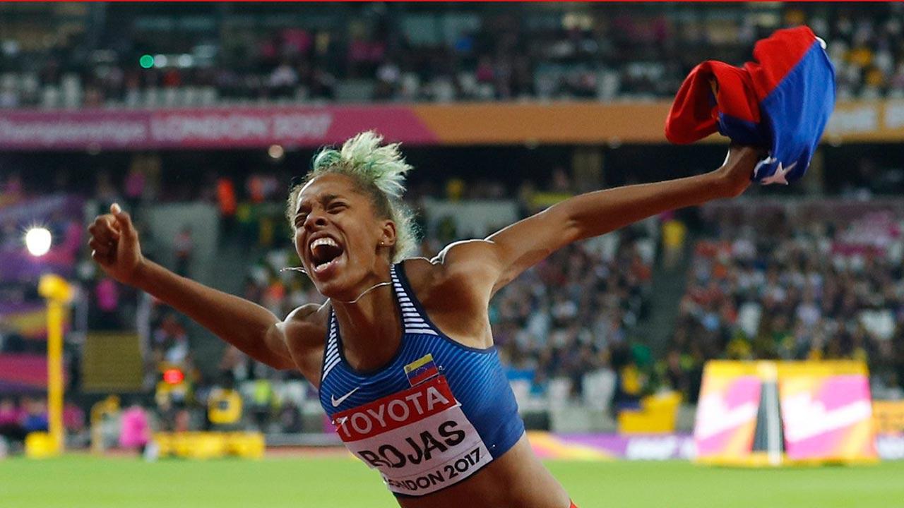 La máxima autoridad del atletismo mundial reconoció el desempeño de la triplista venezolana, campeona del mundo
