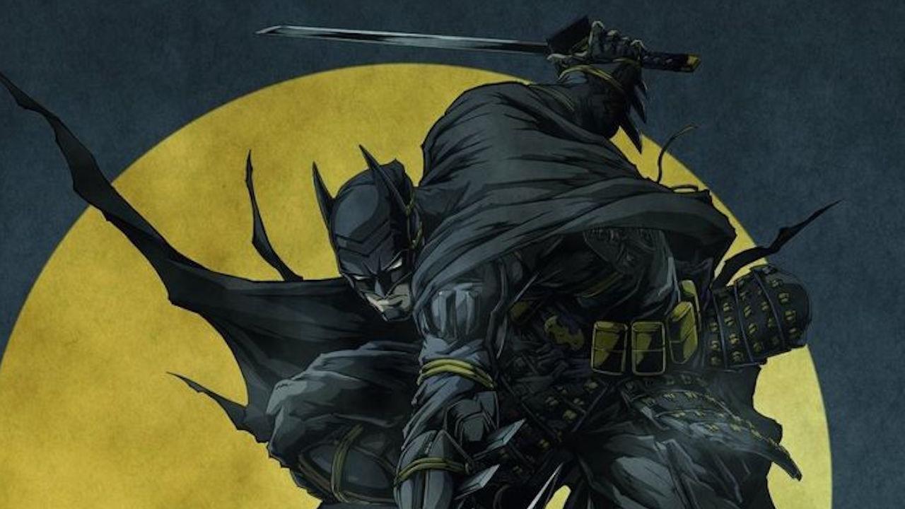 La versión anime del caballero Oscuro promete ser un éxito y lo presenta empuñando una katana