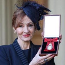 Rowling ingresó a la Orden de los Compañeros de Honor