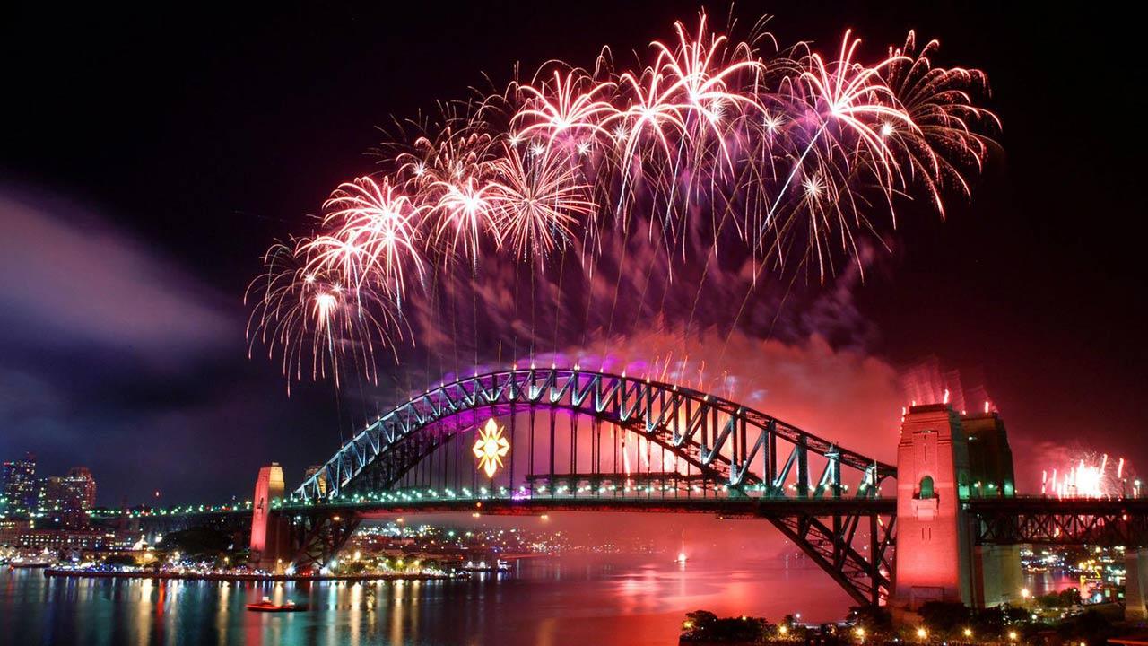 Nadia Hernández fue la creadora de los pirotécnicos que iluminaron el año Nuevo 2018 en Sidney