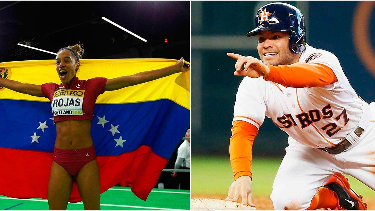 La atleta olímpica y el pelotero grandeliga fueron reconocidos por parte del Círculo de Periodistas Deportivos de Venezuela
