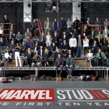 Marvel reunió a sus superhéroes en un retrato