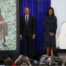 Galería de Washington exhibe pinturas de Barack y Michelle Obama