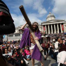 Cristianos recorrieron Jerusalén este viernes