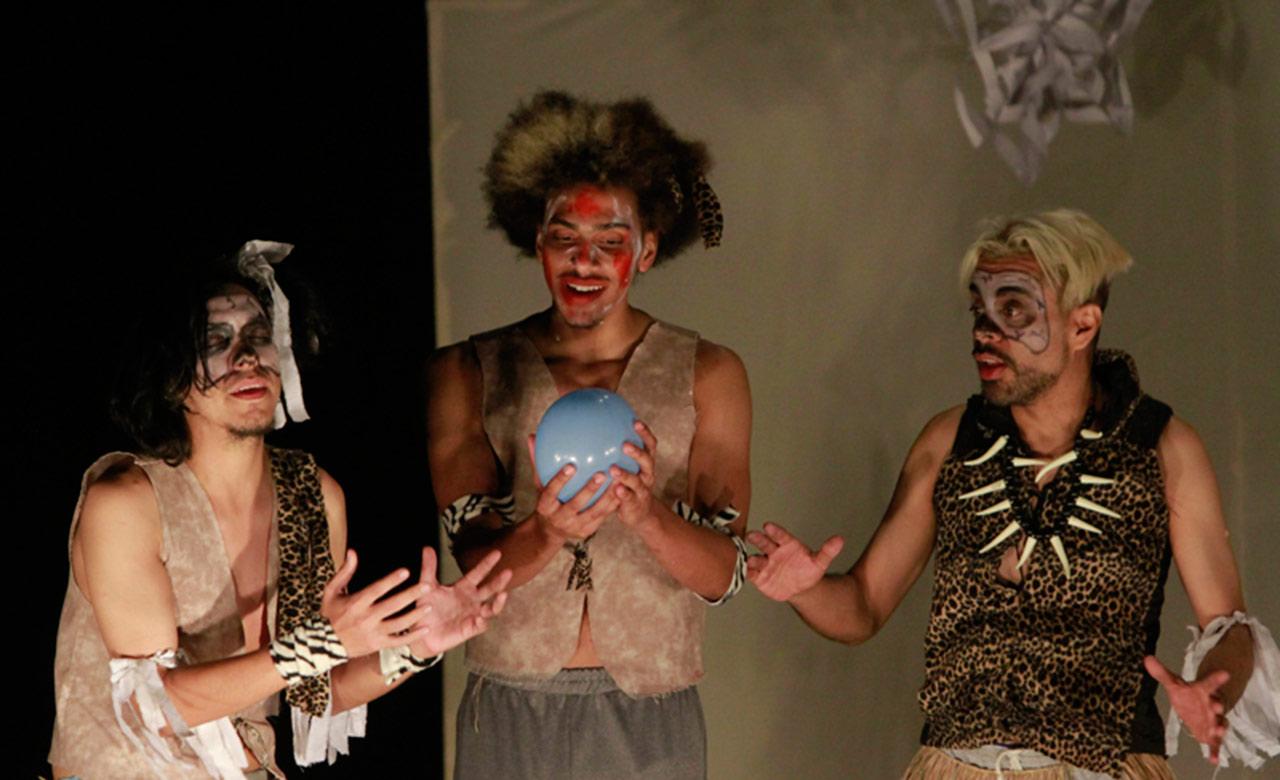 Durante los días 24 y 25 de marzo se presentará La tribu, en un show cargado de sketches circenses y pantomimas