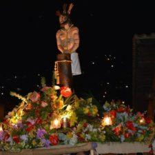 """Realizaron primera procesión de """"Jesús en la Columna"""" en El Hatillo"""
