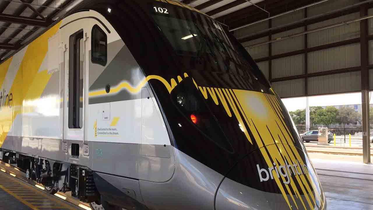 Los potentes vehículos de la compañía Brightline podrán conectar con las ciudades de West Palm Beach y Fort Lauderdale