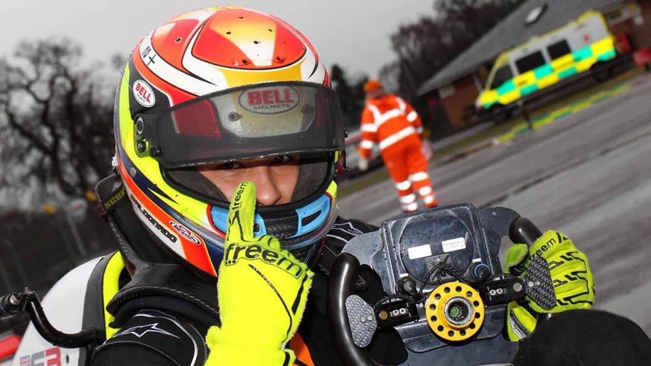 El primo del expiloto de Fórmula 1 labró un gran triunfo en la categoría F3 de automovilismo