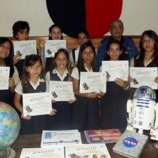 Estudiantes del Colegio Altamira ganan premio de la NASA