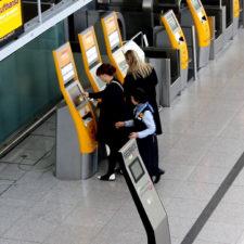 Una abuela asustó a pasajeros en Alemania
