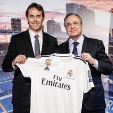Lopetegui fue presentado como DT del Real Madrid