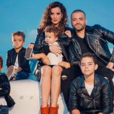 Hijos de Nacho debutaron como modelos