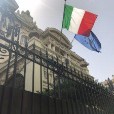 El consulado de Italia en Caracas introduce nuevos métodos de trabajo