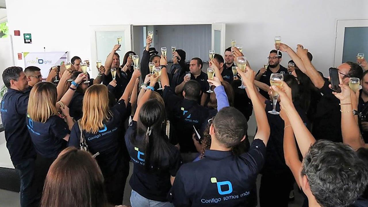 La actividad especial se organizó en el Salón Las Américas del Hotel Paseo Las Mercedes
