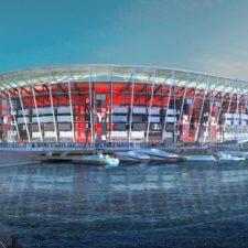 Estadio desmontable de Qatar será trasladado a África